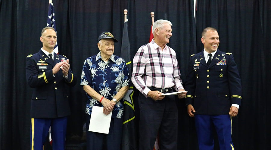 Military Awards to Veterans